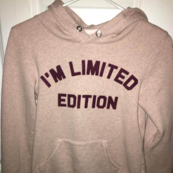 7e8b629b29e5c H&M Tops | Hm Girls Printed Hooded Sweatshirt | Poshmark